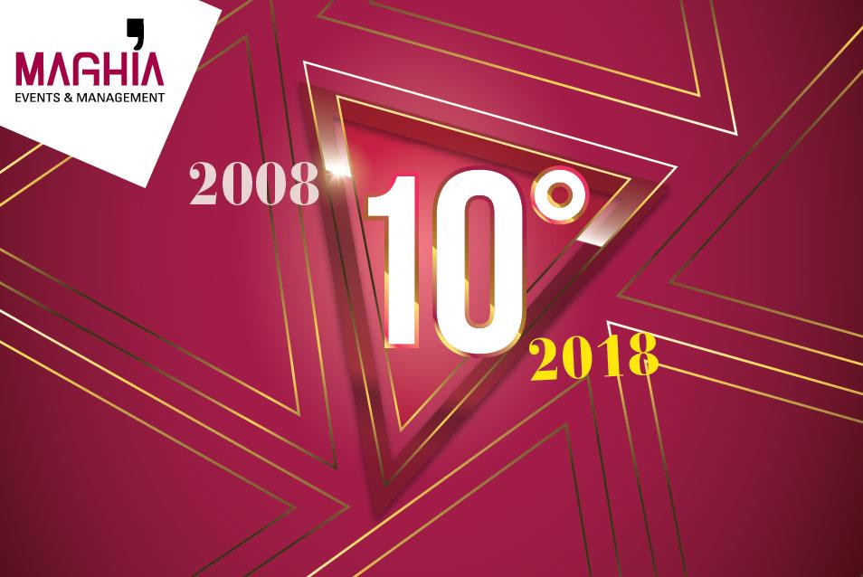 Maghia 10 ° aniversario